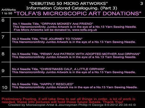 Phillip H George - Debuting 50 Micro Artworks Part 3