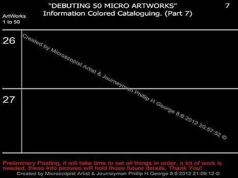 Phillip H George - Debuting 50 Micro Artworks Part 7