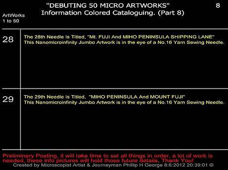 Phillip H George - Debuting 50 Micro Artworks Part 8
