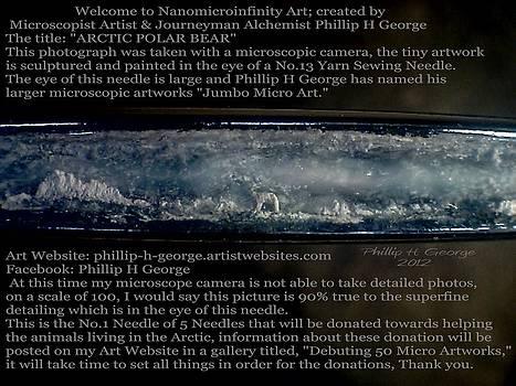 Phillip H George - Debuting Arctic Polar Bear Sewing Needle