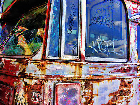 Anne Ferguson - Decaying Trolley