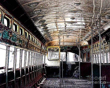 Anne Ferguson - Decaying Trolley Interior