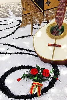 Decoration of tradicional portuguese guitar  by Inacio Pires