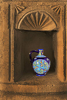 Kantilal Patel - Decorative Carafe in an Alcove