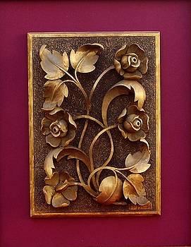 Decorative Panel - Bouquet of Flowers by Goran