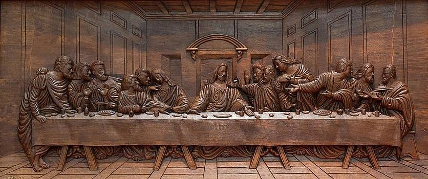 Decorative Panel - Last Supper by Goran