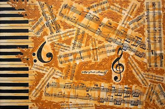 Dedication to Mozart by Ian Cameron