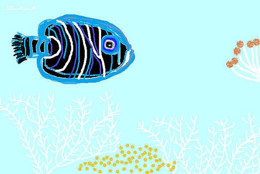 Deep Blue Sea by Watcharee Suebkhajorn
