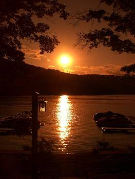 Deep Creek Sunset by Megan Maloney