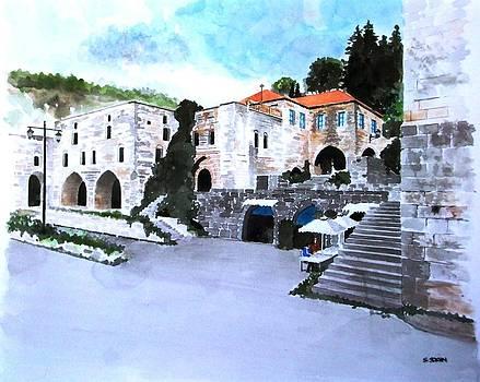 Deir el qamar.Lebanon by Samir Sokhn