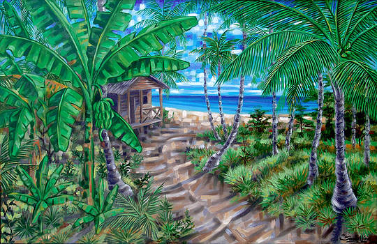 Del platanal a la playa by Samuel Lind