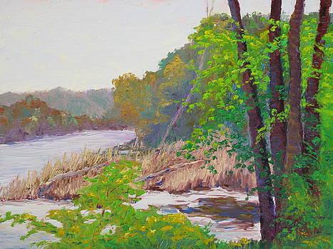 Lea Novak - Delaware River North of Stockton