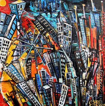 Jon Baldwin  Art - Delusional