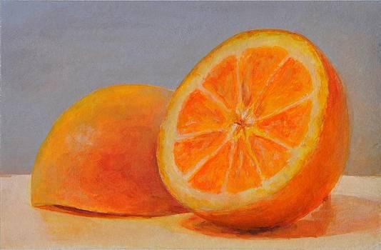 Demi Oranges by Muriel Dolemieux