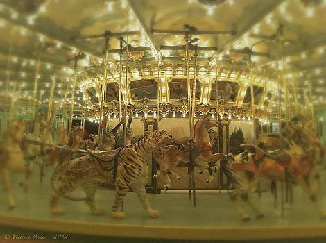 Victoria Porter - Dentzel Carousel at Glen Echo Park Maryland