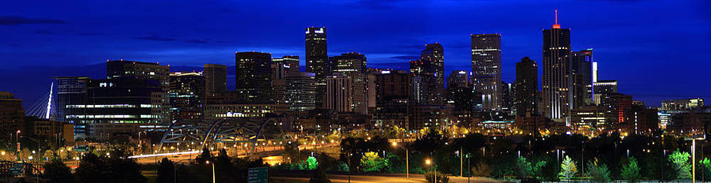 Denver Skyline by Mike Kim