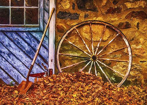 Derelict Cabin by Jill Balsam
