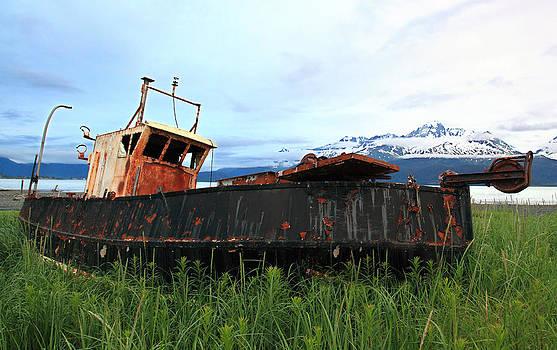 Derelict  Ship by Wyatt Rivard