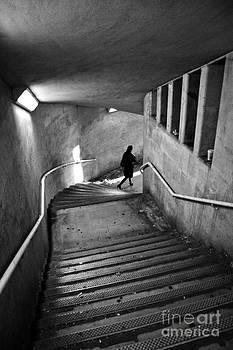 Stairwell by Linda Wisdom