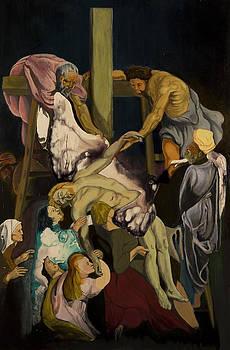 Descente de la croix by Yann Aubertin
