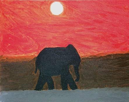 Desert Elephant by Dezera Davis