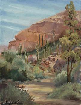 Desert hike by Shari Jones