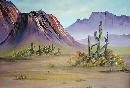 Desert Morn by James Higgins