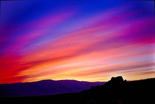 Desert Morning Colors by SB Sullivan