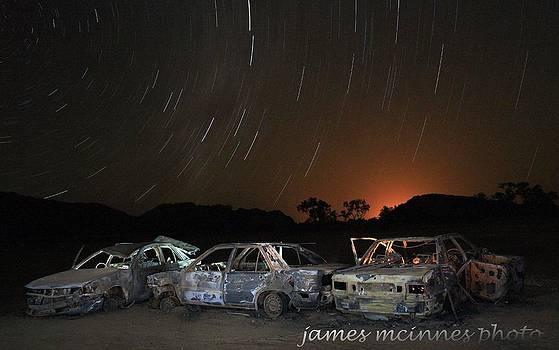 Desert nights by James Mcinnes