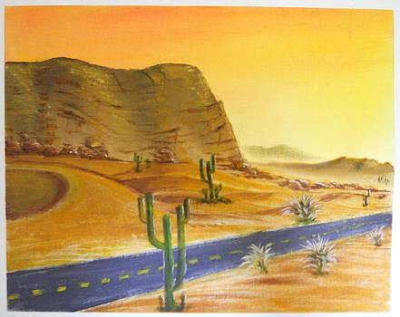 Desert by Ramakant Varma