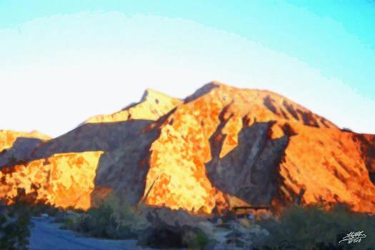 Desert Sunrise by Steve Huang