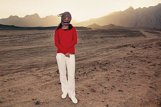 Desert Sunset by Milan Rysavy