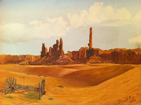 Desert Wagon by Donald Phillip Allen