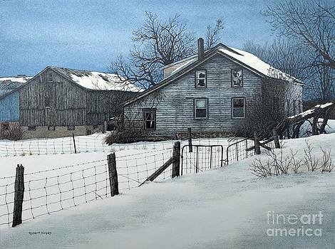 Deserted Farm Prince Edward County by Robert Hinves