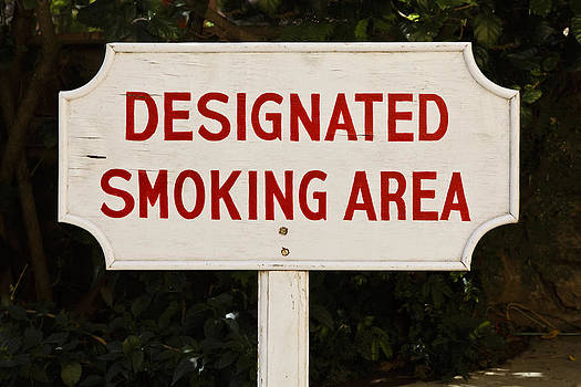 Kantilal Patel - Designated Smoking Area