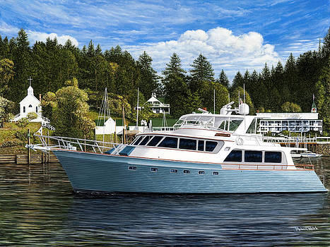 Destination Roche Harbor by Michael Welch