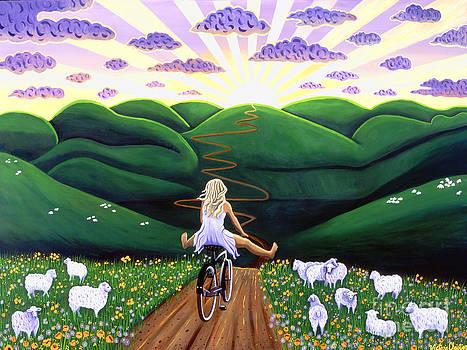 Biking Goddess by Victoria Christian