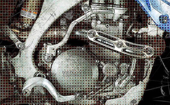 Detail Of The Mechanical Heart by Radoslaw Kowzan