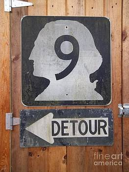 Detour to Highway 9 by Helen  Campbell