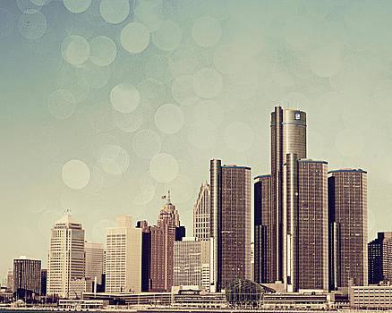 Detroit Dreamy Skyline by Alanna Pfeffer