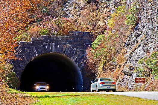 Devil's Courthouse Tunnel by Susan Leggett