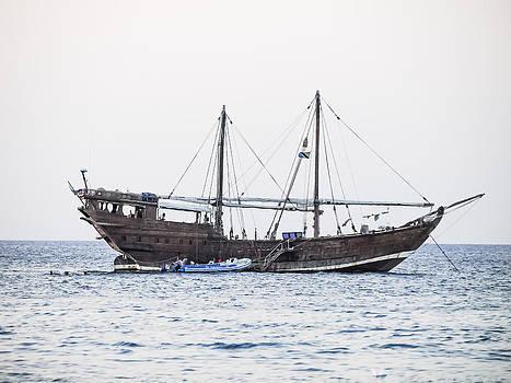 Dhow Sailing Ship by Ralph Brannan