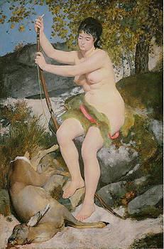 Pierre-Auguste Renoir - Diana