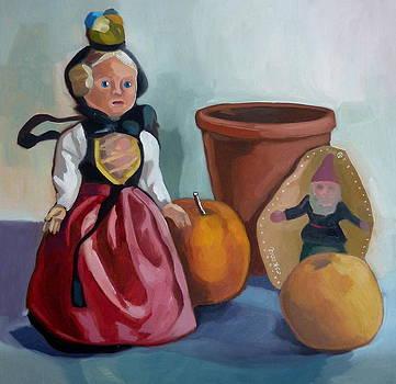 Die Puppe by Carmen Stanescu Kutzelnig