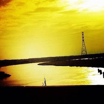 Different Bridge. Same Cape Fear River by Gregg