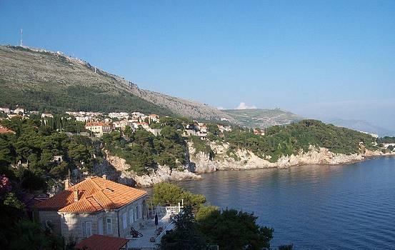 Digital photo Dubrovnik -croatia by Peter  McPartlin