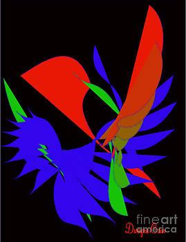 Digital Wings by Dwayne Cain
