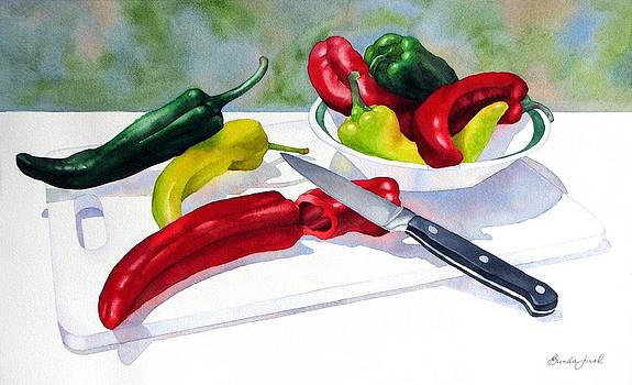 Dinner Pepper-ation by Brenda Jiral