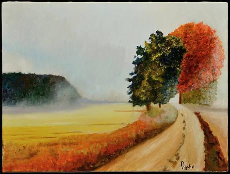 Dirt Road by Gloria Cigolini-DePietro