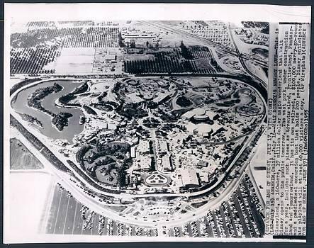 Disneyland -- Aerial View by Disneyland